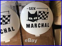 SEV MARCHAL 709 CACHE PHARES/Fog Light SPOTLIGHTS Covers ORIGINAL MULTIMARQUE