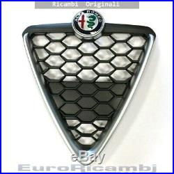 Scudo Grille Nid D'Abeille avec Cadre Satinée Alfa Romeo Giulietta 16 OE