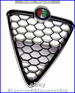 Scudo Grille Nid Nid Dabeille Avec Cadre Noir Alfa Romeo Giulietta 16 Eo