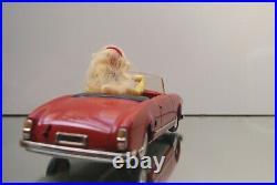 Superbe Schuco Texi 5735 En Boite Alfa Romeo Giuletta Rouge 1960