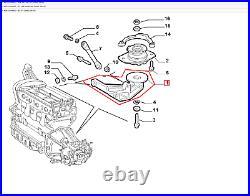 Support Moteur Alfa Romeo Gt 156 147 Original 60614422
