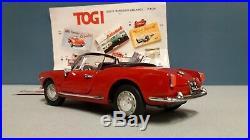Togi 1/23 n° 15 1982 Alfa Romeo giulietta spider 1955 without original box